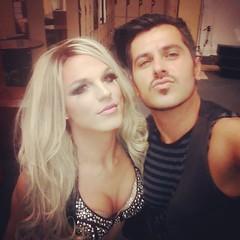 C'mon Miss #BritneyBitch! #DerrickBarry #NickSanPedro #BritneySpears #ShareNightclub (Nick San Pedro) Tags: square squareformat rise iphoneography instagramapp uploaded:by=instagram
