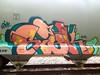 siek-hopper-apricots (SIEKONE.ID) Tags: art train graffiti baltimore hopper kts freight rok gak dst siek flyid elw pfecrew