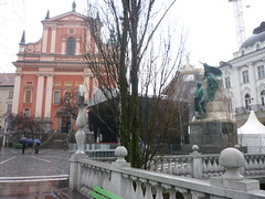 P1010414 (ferenc.puskas81) Tags: church europa europe december january slovenia ljubljana dicembre 2009 annunciation capodanno gennaio 2010 franciscan lubiana