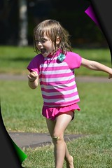 The Joy of Scampering (swong95765) Tags: park wet girl fun happy play joy young running excited scampering
