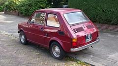 Fiat 126 Personal 4 (sjoerd.wijsman) Tags: auto red holland cars netherlands car fiat nederland thenetherlands voiture vehicle holanda autos import rood paysbas olanda 126 fahrzeug niederlande zuidholland carspotting redcars fcar fiat126 personal4 carspot 50yb07 fiat126personal4 sidecode3