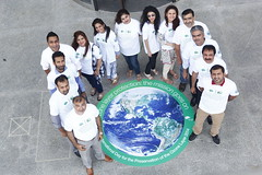 Ozone - Engro - WWF Engro Green Office Team advocating to protect ozone layer on the the guidelines of UNEP Montreal Protocol under the lead of Wajid Hussain Junejo (Green Office Engro) Tags: world green finland corporate office general social corporation responsibility german say ozone liisa protection nunn cyril wwf engro consulate hussain tilo helka wajid junejo fertilizers klinner ukti gpti pgbf