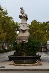 FONT DE DIANA (Yeagov_Cat) Tags: barcelona 1987 diana font catalunya 1919 granviadelescortscatalanes venancivallmitjana carrerrogerdellúria fontdediana