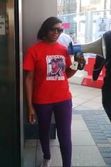Kedisha Representin @ Kingsley Burrell protest - 8 Sept 2014