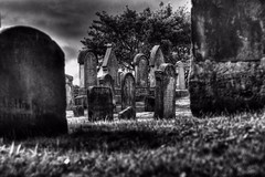 Eternity (scrapping61) Tags: bw cemetery scotland blackwhite unitedkingdom tombstones inverness 2014 scrapping61 stealingshadows daarklands trolledproud trollieexcellence