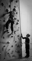 Feel safe, I'm here ! (Lalykse) Tags: kids ben climbing