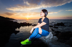 Jung So-young, the youngest haenyeo in Korea (DMac 5D Mark II) Tags: sunset heritage island divers women young culture photojournalism unesco southkorea jeju youngest journalism protected divingwoman 2014 chuja haenyeo chujado douglasmacdonald jungsoyoung intangibleculturalheritagelist