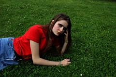 comfort on grass (MillyCope) Tags: camera portrait people selfportrait plant cold colour art nature fashion collage female youth contrast self canon hair photography clothing cool focus colorful colours darkness skin fashionphotography candid young photographers follow human cameras artists contact concept conceptual selfie feminity youngphotographers youngphotographer youngartists canoncameras canon600d canont3i