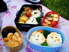 Frozen Bento (Explored) (Jake in Japan) Tags: food japan lunch olaf frozen sony disney  bento lunchbox  riceball  apsc jakejung sel1670z e1670mmf4zaoss