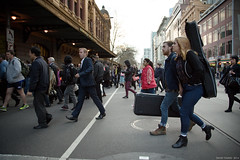Musicians (Ranga 1) Tags: city boy urban girl musicians canon candid australian streetphotography guitars australia melbourne streetscene victoria flindersstreetstation cinematic flindersstreet urbanlandscape davidyoung ef24105mmf4lusm canoneos5dmarkiii