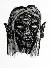 () Tags: black art dark drawing satanic