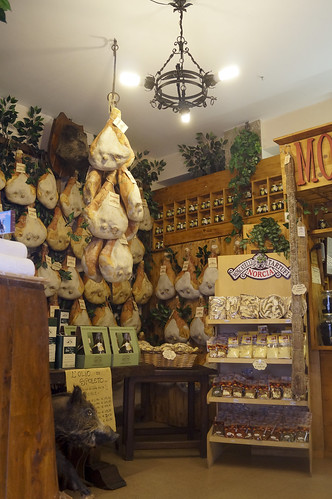 A typical Norcia shop