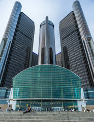 General Motors HQ - The Renaissance Center (Geoff Livingston) Tags: ford gm detroit motorcity