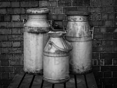 Milk churns (BarryBridgens) Tags: severnvalleyrailway em5mkii