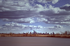 Freedom Tower (-Simulacrum-) Tags: freedomtower clouds landscape outdoor skyline newyork newjersey manhattan nature nikon nikond5300 sigma