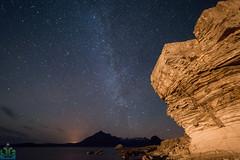 Elgol Night Sky (James G Photography) Tags: elgol nightsky astrophotography astro sea skye isleofskye darksky sky stars milkyway blackcuillin coast cuillin dark night sandstone scotland seascape star water