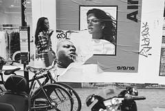 Berwick St, Soho (fabiolug) Tags: woman walking poster posters wall berwickst berwickstreet soho bike bikes bicycle bicycles people street streetphotography london leicam6 leicam6ttl leicam6ttl072 leica m6 rangefinder film fimphotography believeinfilm 35mmsummicronasph 35mmf2summicronasph summicronm35mmf2asph summicron35mmf2asph 35mm summicron leicasummicron leica35mm fujifilmneopanacros100 fujifilmacros100 acros100 fujifilm acros blackandwhite blackwhite bw