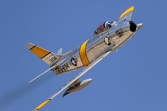 F-86 Sabre (Trent Bell) Tags: lancaster foxairfield airport losangelescounty airshow 2016 california northamerican f86 sabre aircraft warbird