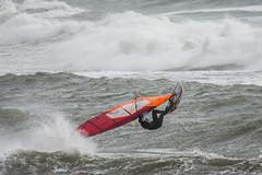 Bigbury on Sea windsurfers - 3 (Matchman Devon) Tags: bigbury sea south hams windsurfers wind waves surf windsurfer