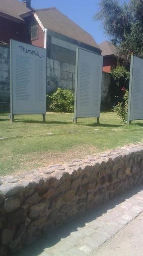 Museo de la Corporación Parque por la Paz Villa Grimaldi .