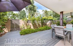 21/33-39 Cecil Avenue, Castle Hill NSW