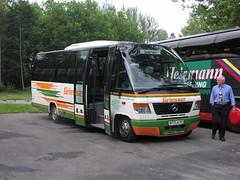 P7160109 Omnibusbetrieb Griesser, Dettighofen-Baltersweil WT-LA101 (Skillsbus) Tags: buses coaches germany mercedes o814 ernstauwärter teamstar kombi griesser