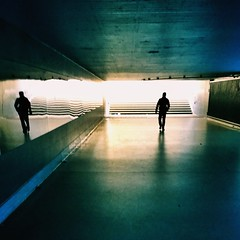 Underground (marfis75) Tags: tunnel unterführung underground under unten licht stairs treffen wiesbaden treppen light marfis75 gehen walk walker läufer fussgänger inslicht treppe mann man cc tunne tief strasse durchgang höhle spiegel spe spiegelbild figur mensch person dunkel dark düster shine ground down shadow