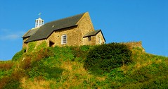 The Fishermans Chapel. Ilfracombe. North Devon (standhisround) Tags: sky lighthouse building fisherman hill cottage chapel devon beacon ilfracombe saintnicholas