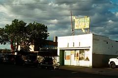 6 23 arbons cafe green river-closed (EllenJo) Tags: june 35mm utah ut nikon roadtrip greenriver nikonfm10 fujifilm summervacation 2014 westernus whatididonmysummervacation triptoutah 200speed southwesternusa greenriverutah ellenjo ellenjoroberts