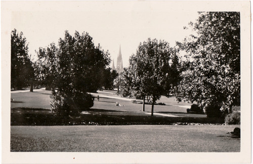 The Domain, Melbourne 1930s