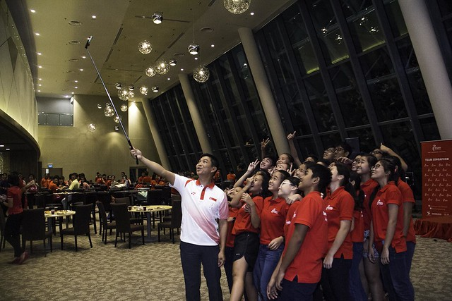 Team Singapore Flag Presentation Ceremony for the Glasgow 2014 Commonwealth Games and the Nanjing 2014 Youth Olympic Games