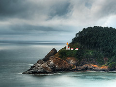 Heceta Head Lighthouse of Oregon (Beau Rogers) Tags: ocean lighthouse nature oregon outdoors pacific scenic pacificocean coastal pacificnorthwest oregoncoast pacificcrest hecetalighthouse