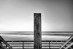 steady into the gulf she beams (jasonroecker) Tags: longexposure bw beach water fuji gulf fujifilm x100 teaxas 16stops wclx100 x100s