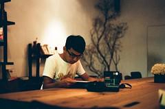 BOLI (MC.tw) Tags: portrait man film caf 50mm nikon taiwan taipei f18 fm solaris huashan