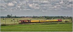 67025 & 67027. Testing . (Alan Burkwood) Tags: test train diesel locomotive retford 67027 67025