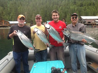 Alaska Salmon Fishing Lodge - Luxury 51
