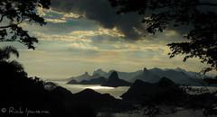 Parque da Cidade - Montanhas do Rio de Janeiro - Mountains of Rio de Janeiro (.**rickipanema**.) Tags: sunset pordosol brazil rio brasil riodejaneiro cidademaravilhosa cristoredentor christtheredeemer corcovado