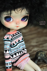 Momo my first Yeolume doll <3 (♥PAM♥dolls♥) Tags: cute love toy momo doll sweet customblythe pamdolls yeolume