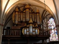 Stadthagen, Niedersachsen, St.-Martinikirche, organ (groenling) Tags: wood germany de deutschland pipe front carving case organ holz vater woodcarving orgel pfeife niedersachsen prospekt stadthagen gehuse pipeshade schleierbrett stmartinikirche