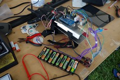 InMoov hand (nicknormal) Tags: robot hand makerfaire makerfairebayarea inmoov