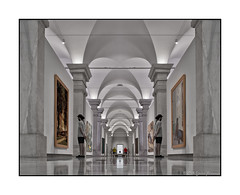 Parellel Worlds - Man Observing Art (GAPHIKER) Tags: art tile washingtondc washington worlds hss parellel americanartmuseum observingart happyslidersunday marezia57
