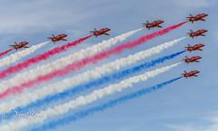RAF Feltwell (yve1964) Tags: cars display jets airplanes american planes arrows redarrows 4thjuly raflakenheath raffeltwell