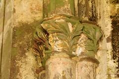Floral Capital (gripspix (OFF)) Tags: detail floral abbey germany deutschland capital ruin ruine kloster allerheiligen badenwrttemberg kapitell oppenau rankwerk 20140622