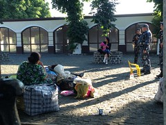 , . . (GrusiaKot) Tags: roma station politics police ukraine ethnic minority gypsy kiev stazione rom kyiv polizia ucraina zingari  mistreated