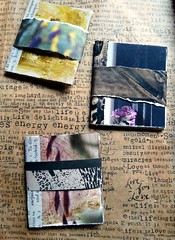 Mini books 1 (LaWendeltreppe) Tags: art paper collages minibooks