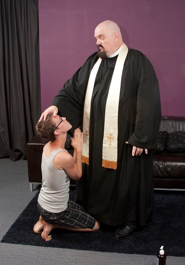 Please father, no! (TBTAOTW2011) Tags: wood old boss gay boy man