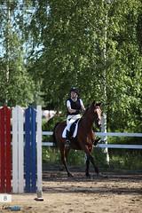09-34-05 (laatupaikka_kaikkonen) Tags: equestrian showjumping horsebackrider horsewoman esteratsastus sorsasalo kansalliset esteratsastuskilpailut laatupaikkakaikkonen