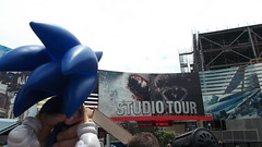 Sonic at Studio Tour (Gregory Morales J.r) Tags: sonic studiotour universalstudioshollywood uploaded:by=flickrmobile