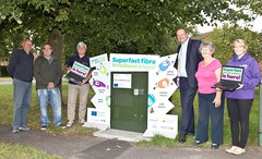 """Stephen Mosley MP joins Saughall Parish Council and Connecting Cheshire launching super fast broadband in Saughall • <a style=""""font-size:0.8em;"""" href=""""http://www.flickr.com/photos/51035458@N07/14728903270/"""" target=""""_blank"""">View on Flickr</a>"""