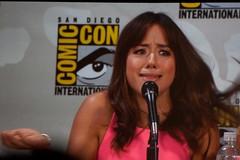 Chloe Bennet (Skye) (kawaii_ninja) Tags: san comic panel diego center international convention shield marvel con agents 2014